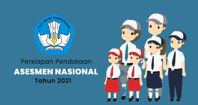 Persiapan Pendataan Asesmen Nasional (AN) Tahun 2021