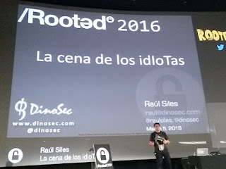 RootedCon 2016 - Raúl Siles y el Internet of Things