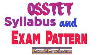 Osstet syllabus and exam pattern