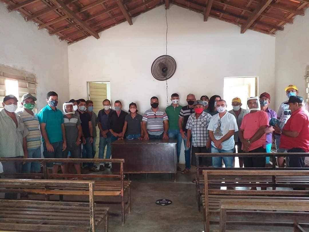 Secretaria de agricultura de Aurora se reúne com diretoria da Associação Comunitária dos Sítios Gitirana e Araújo objetivando materializar diálogo com administrados