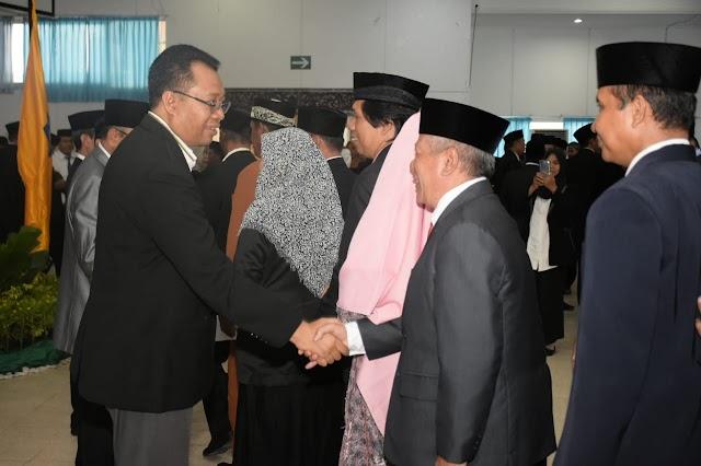 Gubernur Lantik 260 Pejabat Fungsional, Dilantik Berdasarkan Kinerja
