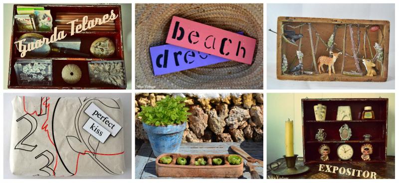diy, hazlo tu mismo, lista, listado, manualidades, craft, repaso del año, cubertero madera, cartel, diorama bosque, packing, crasas en comedero de aves