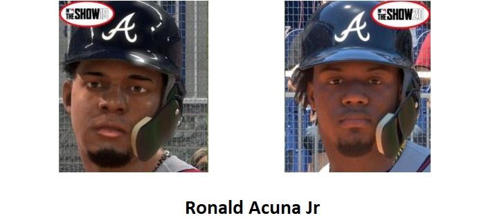 Graphical Comparison - MLB 19 vs MLB 20