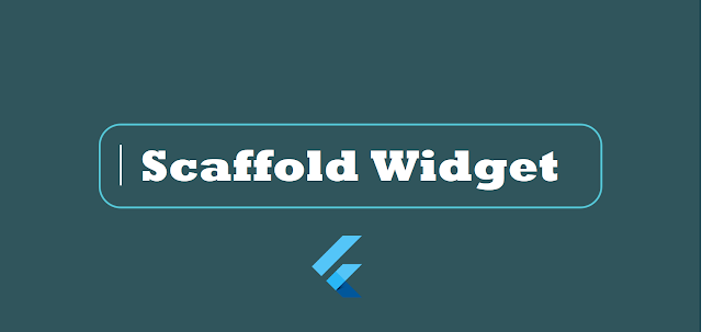 flutter scaffold widget and properties