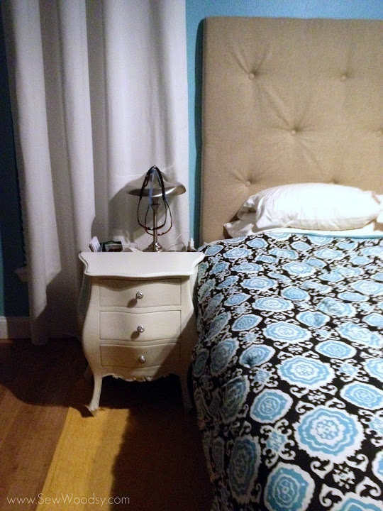 A Cheap Antique Nightstand Revamp Nice