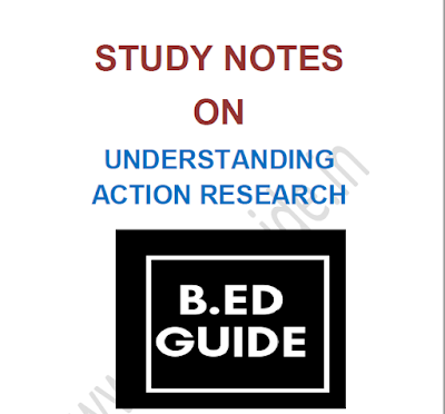 B.ed Notes on Action Research PDF Download