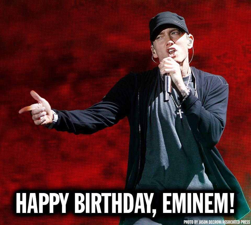 Eminem's Birthday Wishes Sweet Images