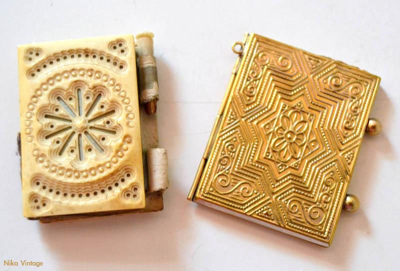 porta retratos antiguo, portaretratos portatil, carnet de baile hueso, cuaderno de baile, labrado, grabado