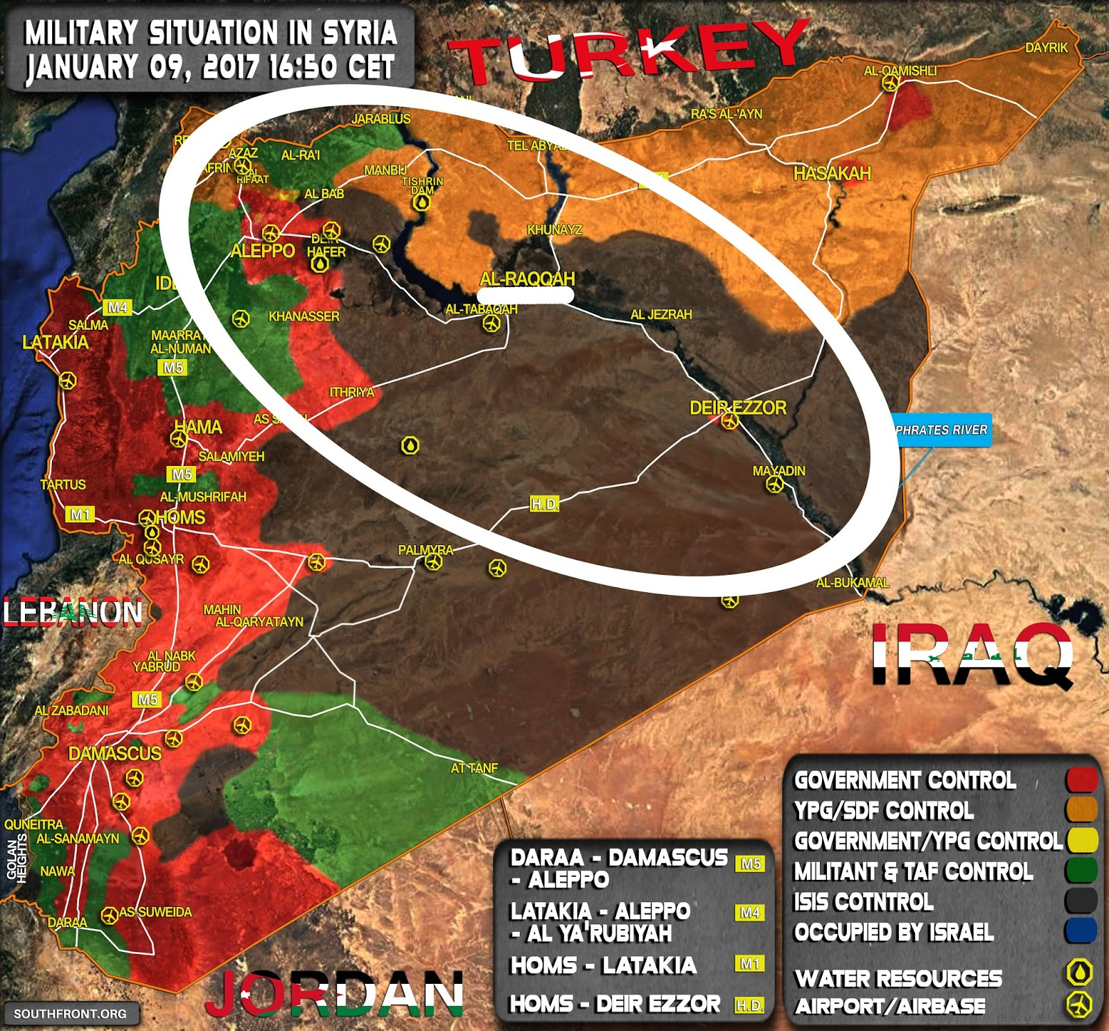 miles see map below al raqqah sits approximately in the middle most planners believe that taking al raqqah is the key to defeating isis in syria