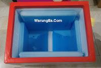 box styrofoam banner besar