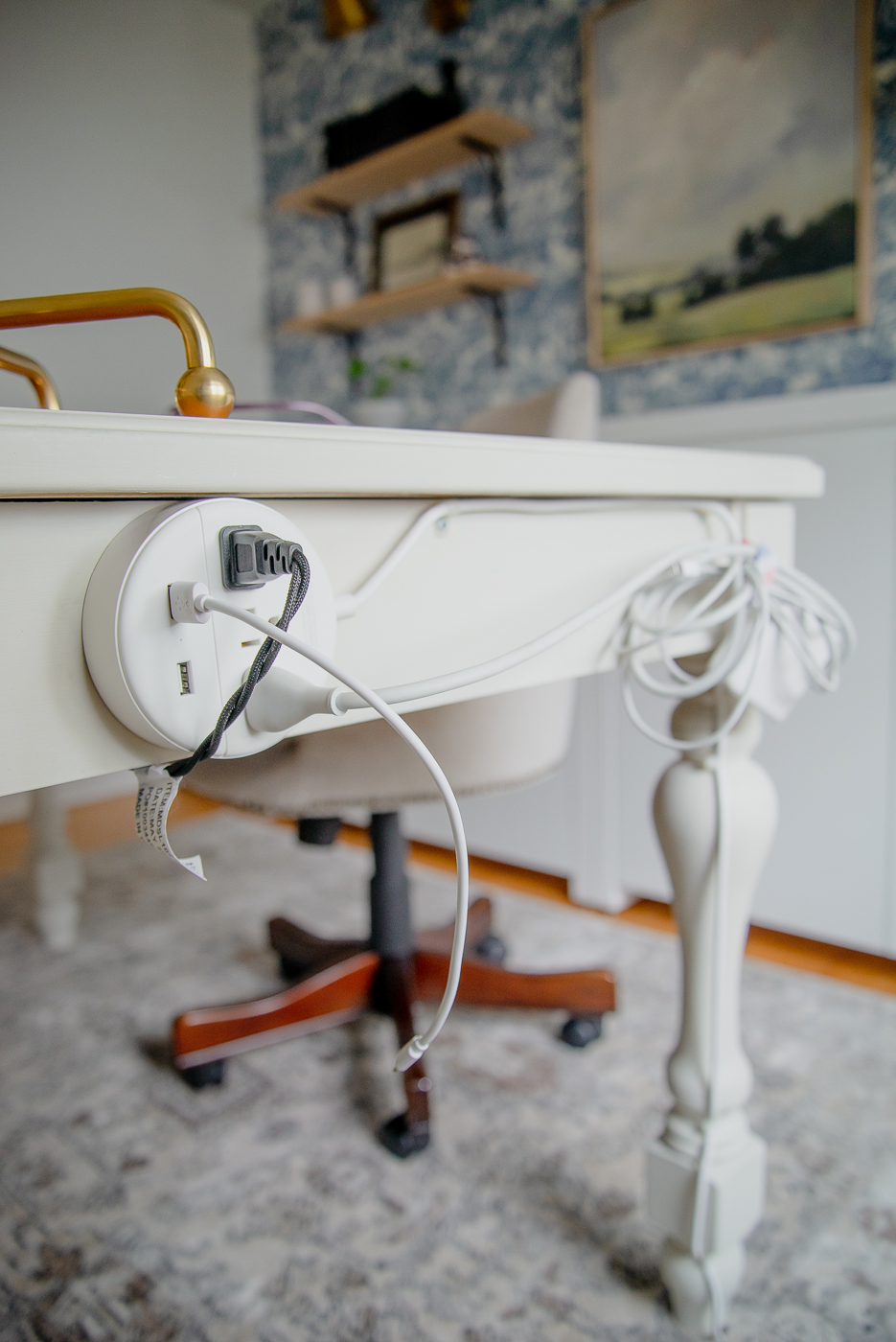 how to hide power cords