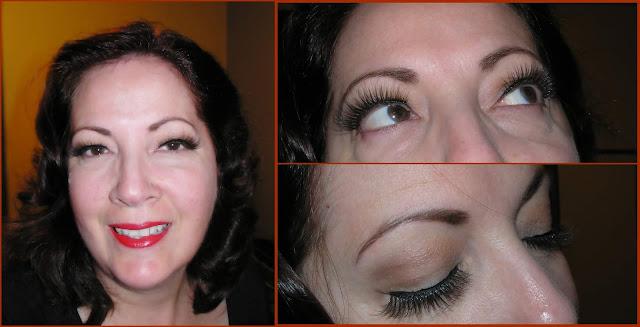 eyeliner et faux cils magnétiques