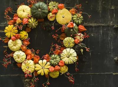 Halloween outdoor wreath