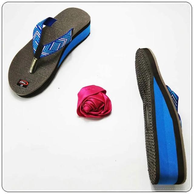 grosirsandalmurah.org - sandal wedges - wedges karet WHY