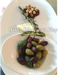 A warm olives dish at the Sea Salt restaurant in St. Petersburg, Florida