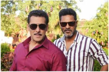 Salman Khan and prabhv deva