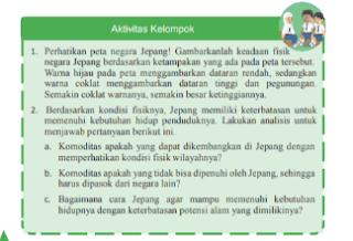 KJ Aktivitas kelompok halaman 26 IPS kelas 9