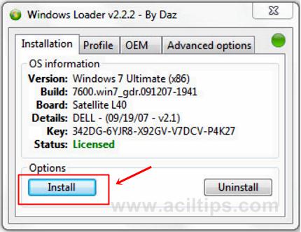 Aktivasi windows 7 ultimate not genuine