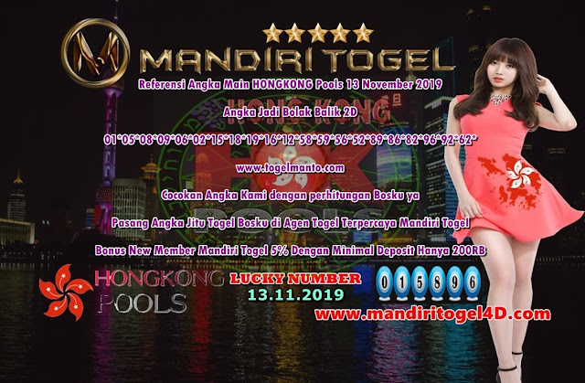 Prediksi Lucky Number Togel Hongkong Mandiri Togel 13 November 2019