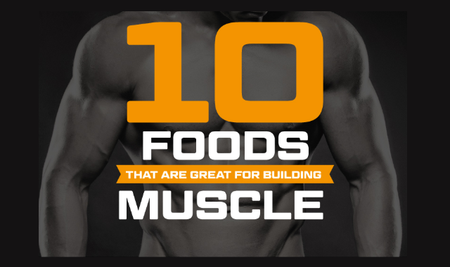 Food diary for increasing muscle Mass
