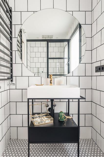 Дизайн-проекты. Квартира в Мадриде с парижской атмосферой