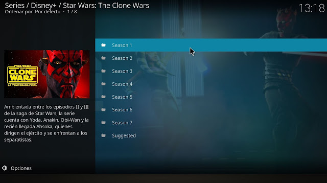 Clone Wars KODI addon