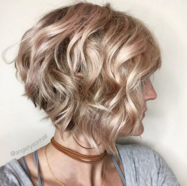 short bob hairstyles for woman 2019