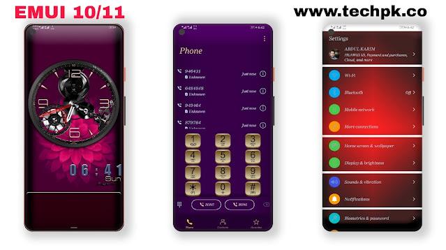 Peli Huawei theme for Emui 10 / 10.1 Emui11