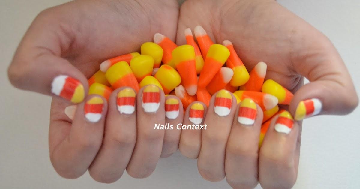 Nails Context: Halloween Series: Candy Corn Nails