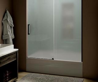 sliding-frosted-glass-bathtub-doors