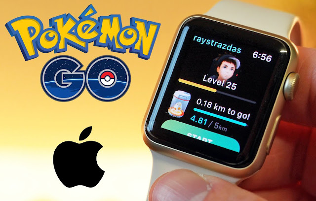 Pokémon GO Discontinued support for Apple Watch