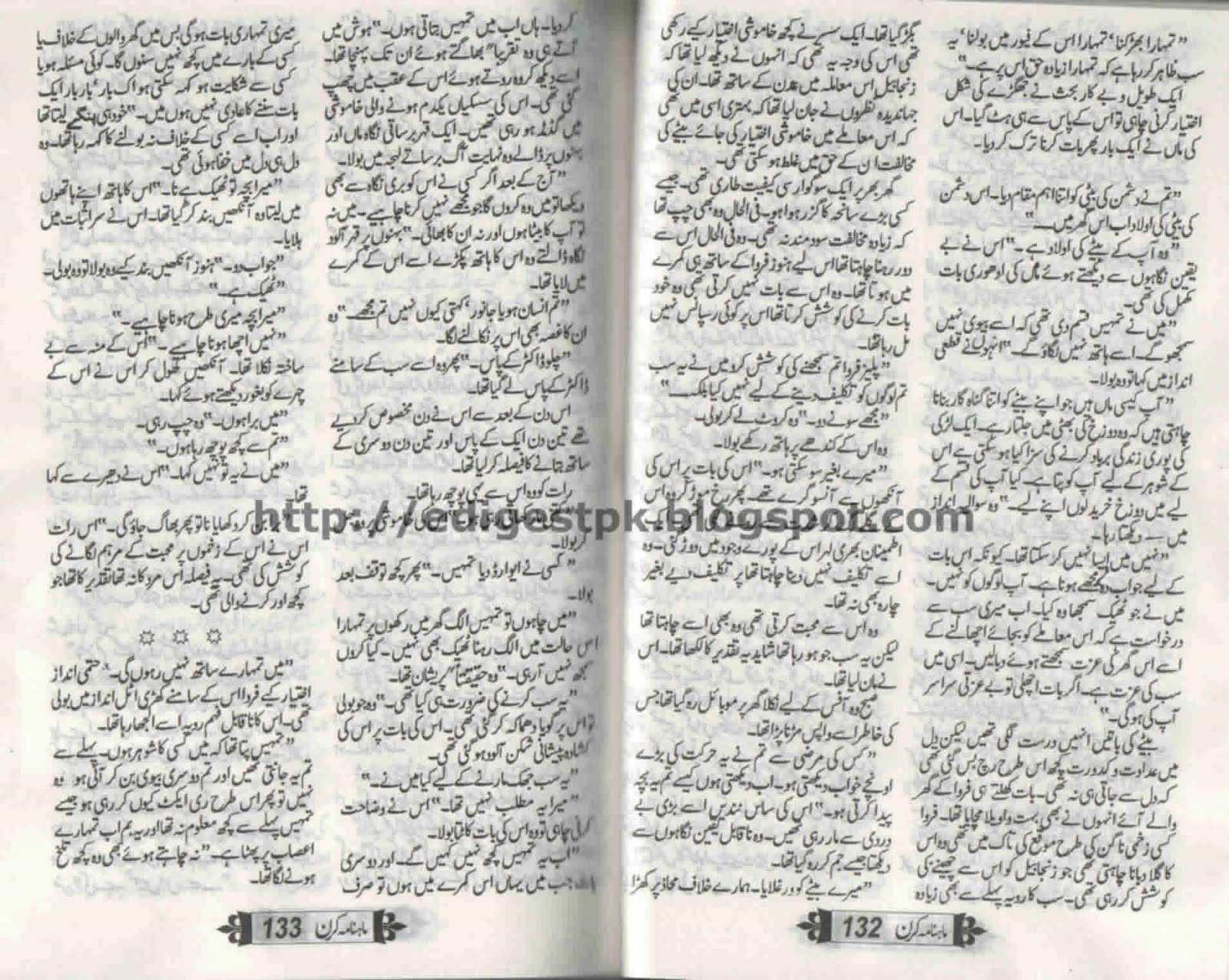Urdu Novel Lovers: Anaa parast novel by Nadia Ameen
