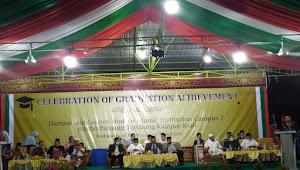 Tasyakuran Wisudawan/ti GP7, KH Ma'ruf Ch: Syukur Atas Nikmat adalah Amanah Pendiri Gontor