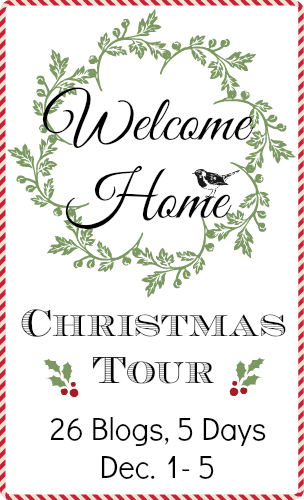 welcome home tour Christmas front porch http://bec4-beyondthepicketfence.blogspot.com/2014/12/welcome-home-tour-12-days-of-christmas.html