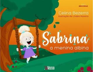 Capa divulgação Sabrina, a menina albina