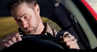 umorni vozač