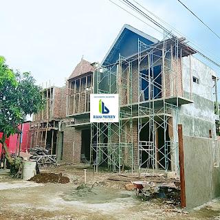 Rumah Contoh Rumah Desain Kontemporer - 2 Lantai - Di Karya Kasih Medan Johor - Perumahan Kasih Lima