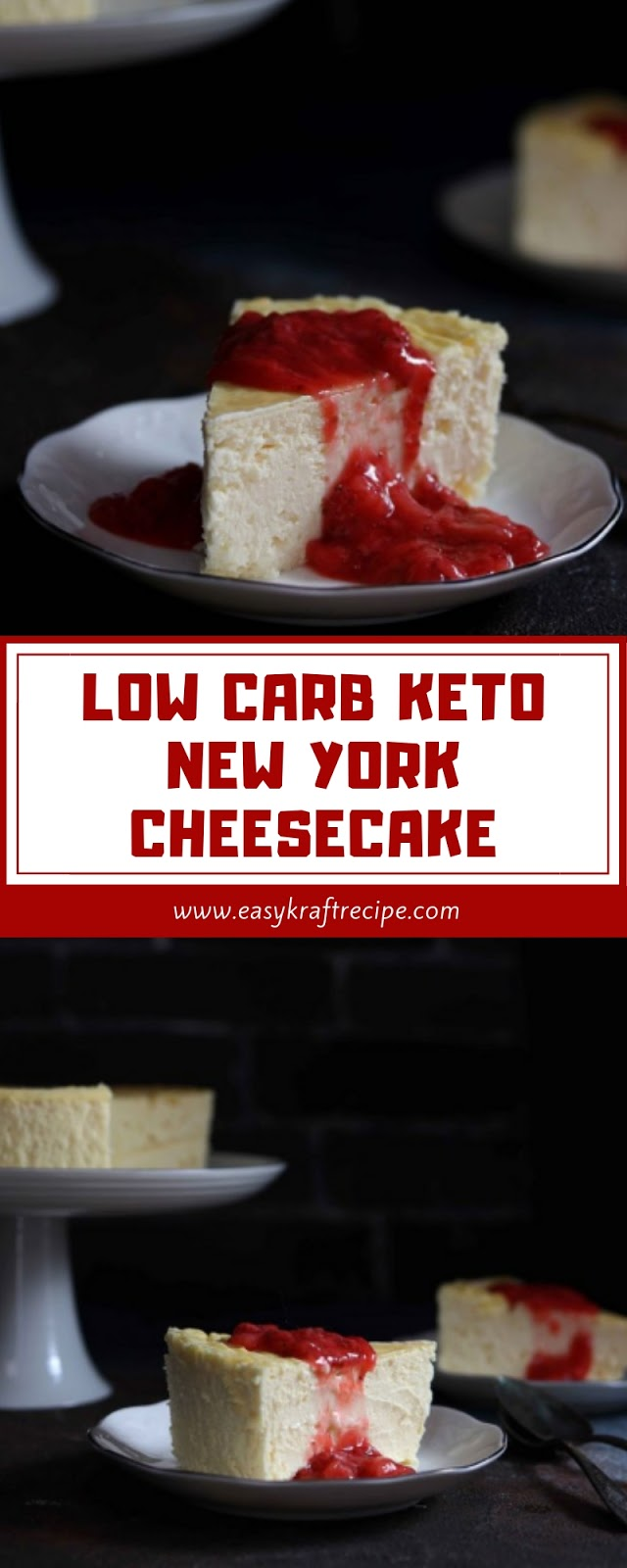 LOW CARB KETO NEW YORK CHEESECAKE