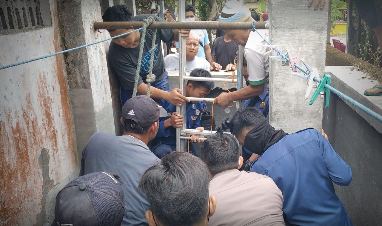 Agung Nyaris Kehilangan Nyawanya Saat Mengurah Sumur di Gombong