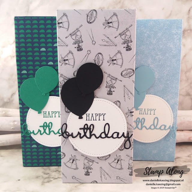 Stampin' Up! Come Sail Away douchegelverpakking op maat