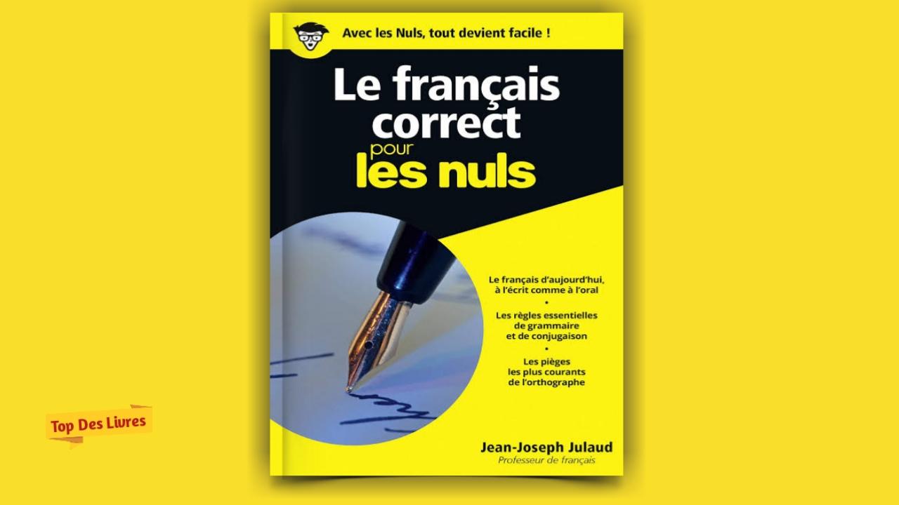 Telecharger Le Francais Correct Pour Les Nuls En Pdf Top