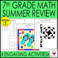 7th Grade Math Review Packet