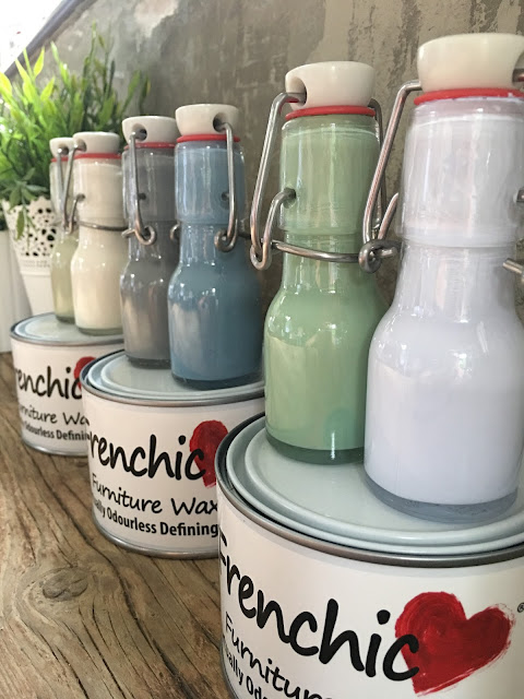 outdoor al fresco Frenchic paint