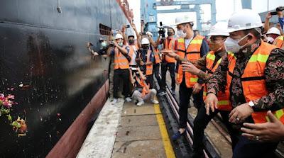 Gubernur Arinal Melepas Ekspor Perdana Produk GGP ke Singapura
