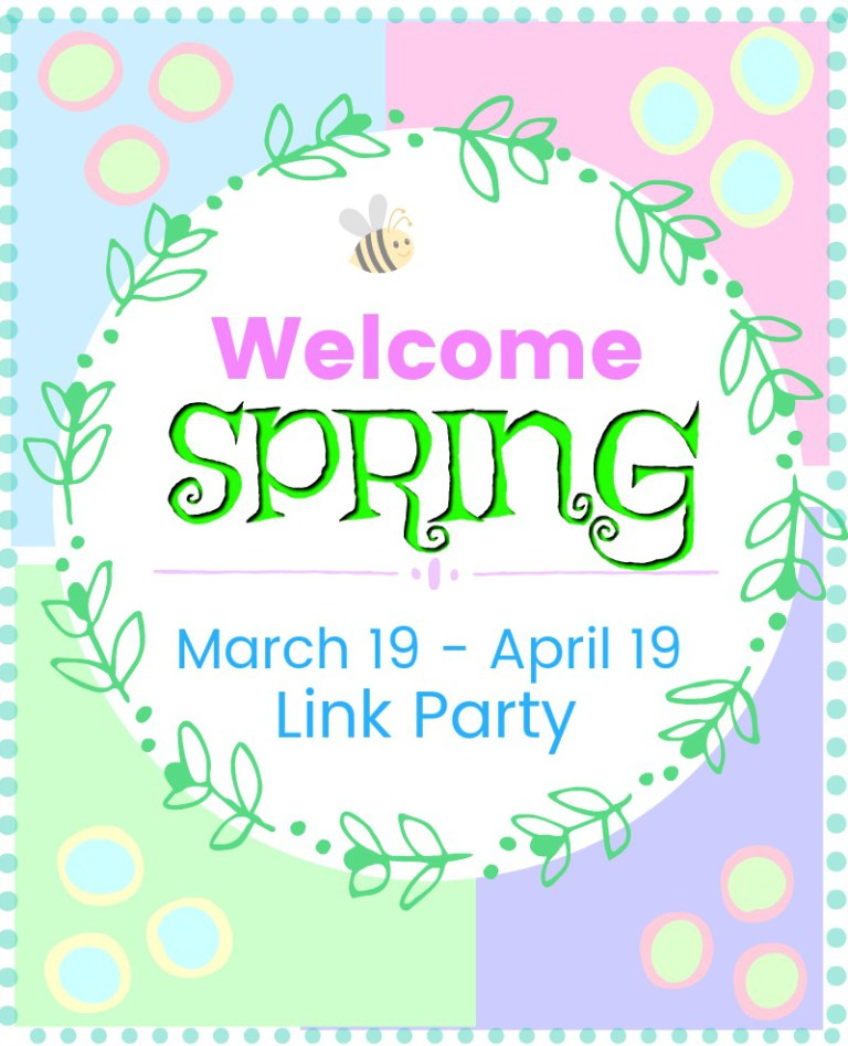 Welcome Spring Link Party- March 19 to April 19, 2018
