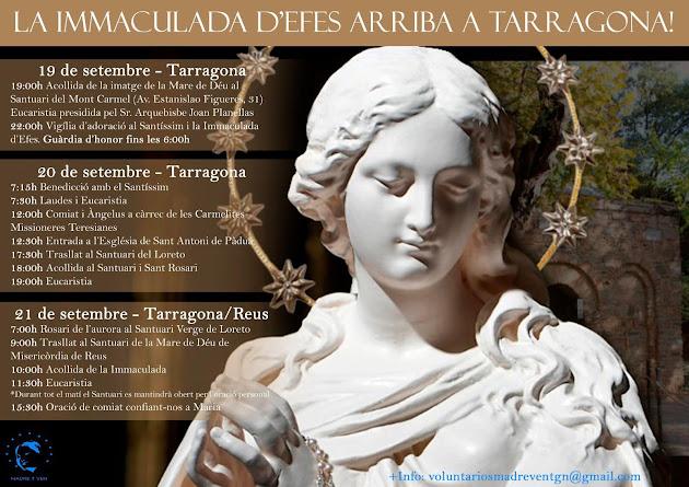 La Immaculada d'Efes arriba al Santuari de Misericòrdia