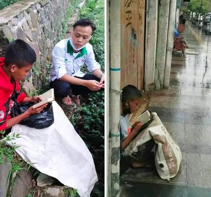 Identitas Bocah Pemulung yang Rajin Baca Qur'an Terungkap, Ayah Ibunya sudah Bercerai