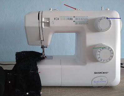 Przedłużanie sukienki DIY doszywanie materiału u dołu - Adzik tworzy