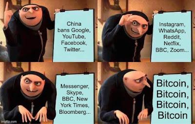 prohibición de bitcoin de china