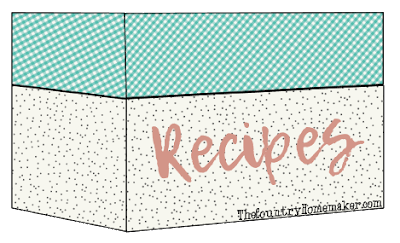 Country Homemaker Recipe Box